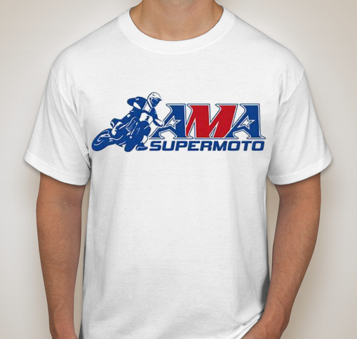 Official AMA Supermoto Logo T-Shirt