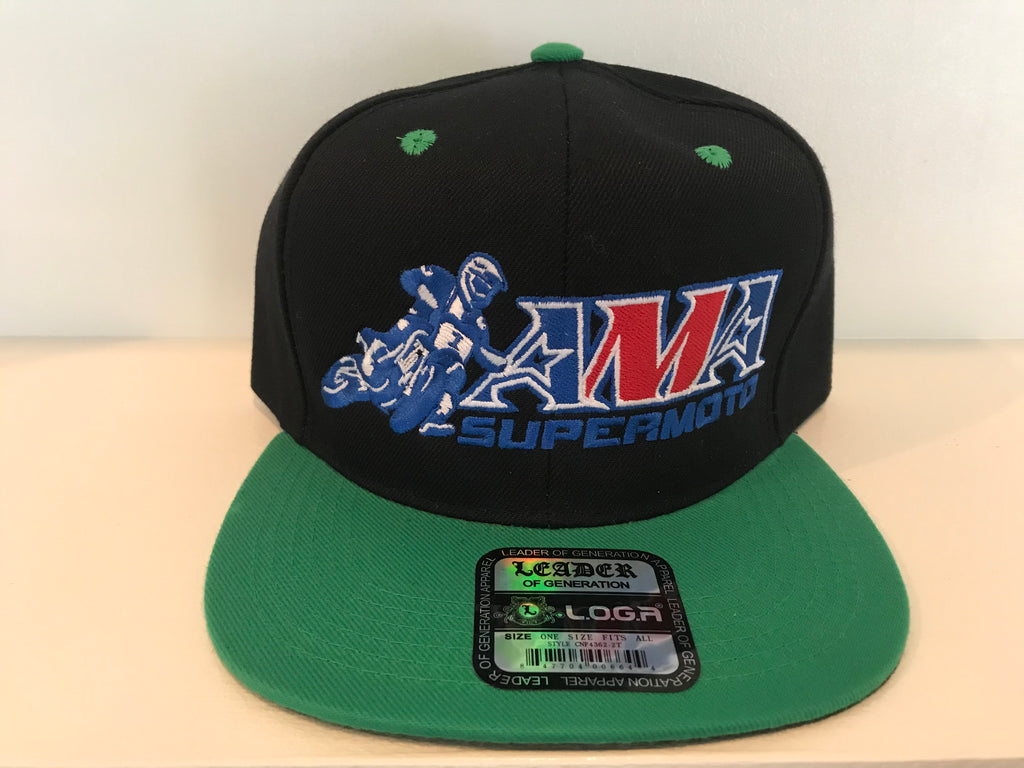 Official AMA Supermoto Snapback Hat