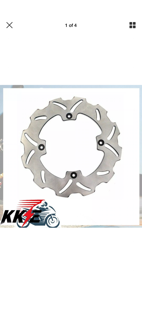 Disc Brake - KKE Rear Wheel Rotor for Suzuki RMZ250 07-19 RMZ450 05-19