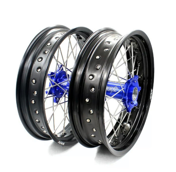 Wheel Set - 3.50*16.5 & 5.0*17 KKE Supermoto Yamaha 03-19 YZ125 YZ250 YZ250F YZ450F