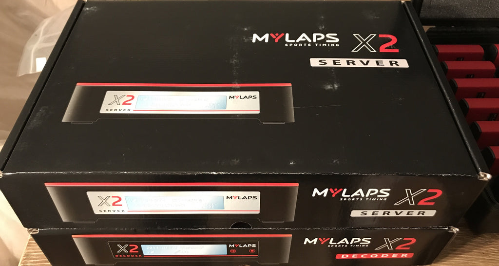 MyLaps X2 with 34 Transponder Rental