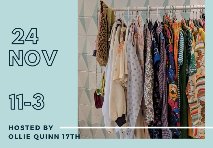 Ollie Quinn Calgary | Winter Clothing Swap at 17th Avenue
