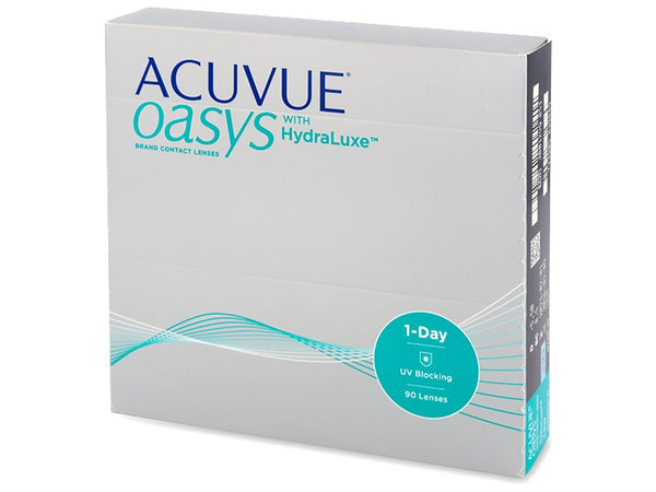 Acuvue Oasys Hydraluxe 1 day 90-pack