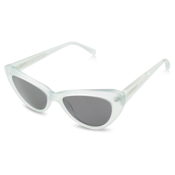 Ollie Quinn isabella polarised women's sunglasses in jade top