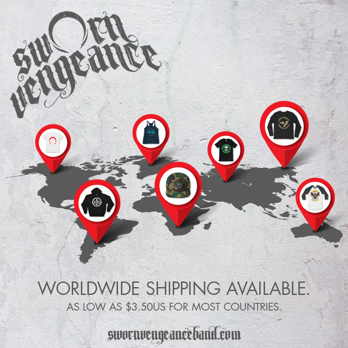 Worldwide Shipping!