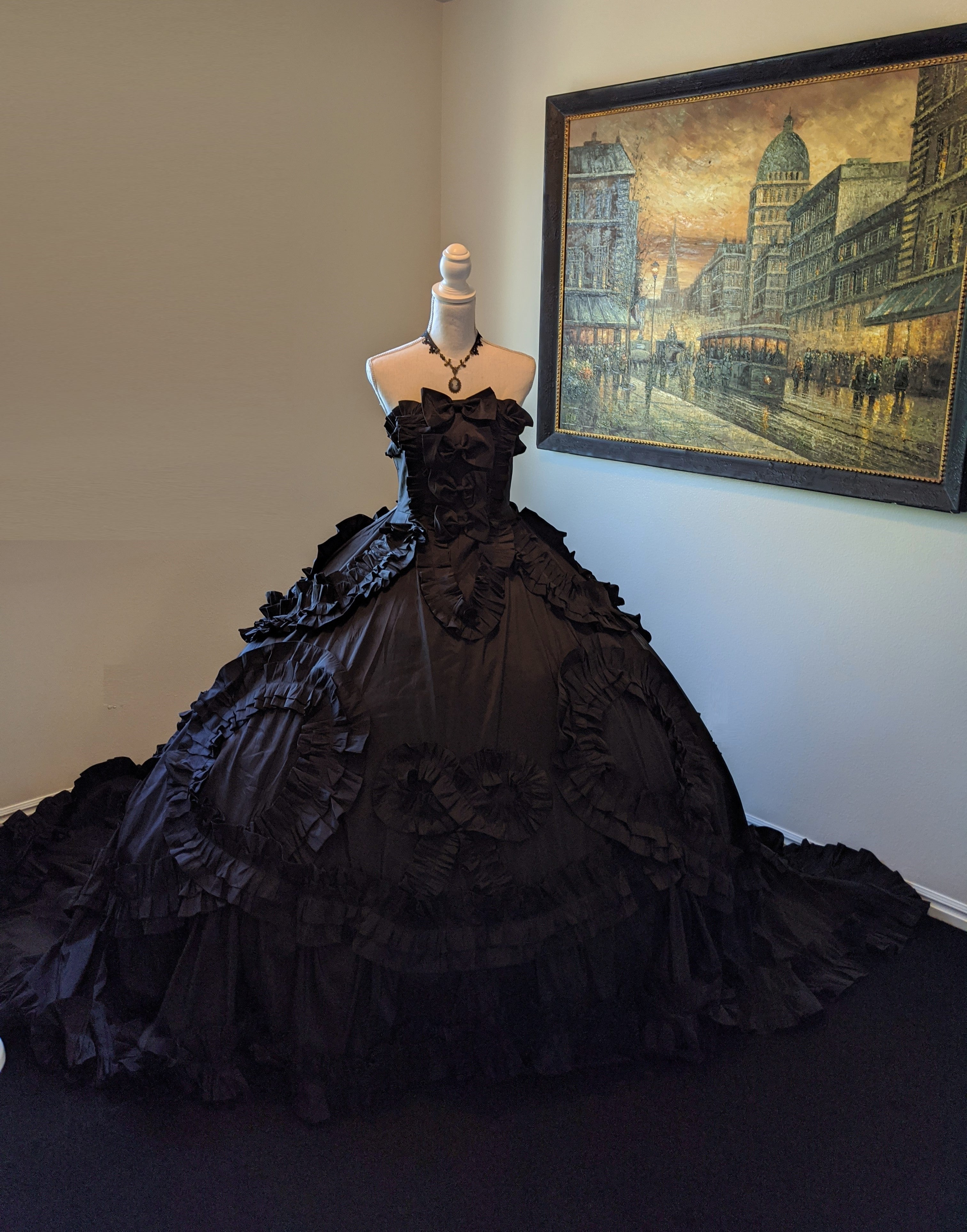 18th Century Inspired Gothic Victorian Gown