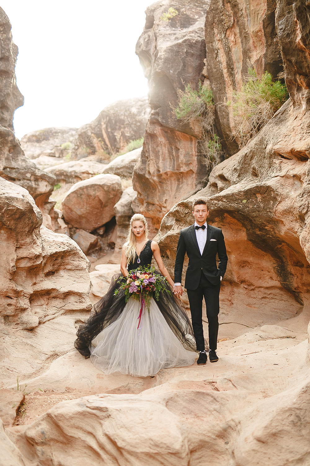 Designer Tulle & Lace Wedding Dress
