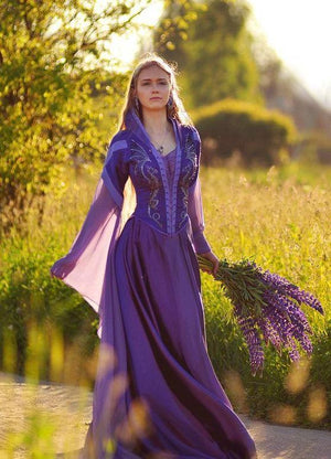 Purple Fairy Dress