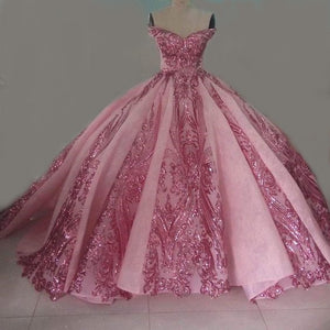 Enchanting Pink Princess Dress
