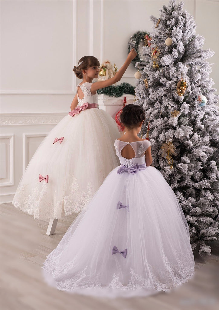 Gorgeous Ruffles & Bows Gown
