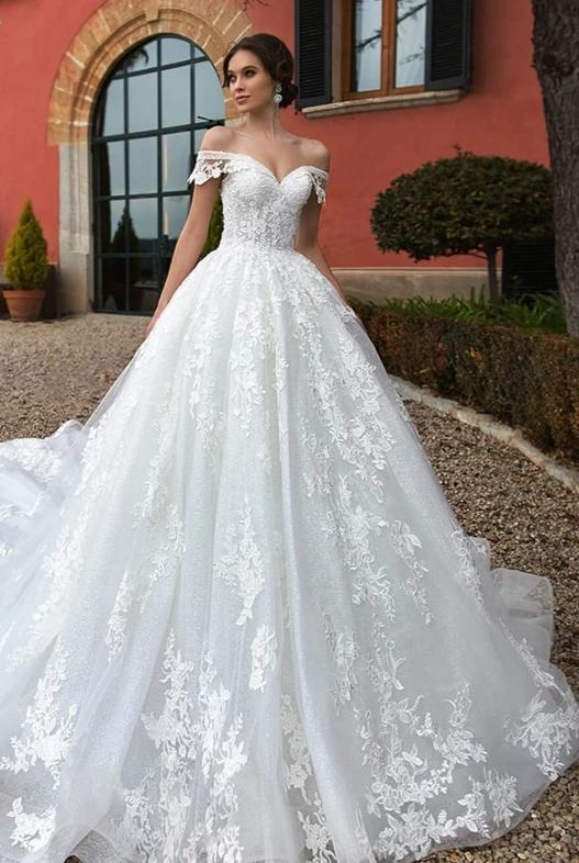Sexy Sweetheart Lace Princess Ball Gown