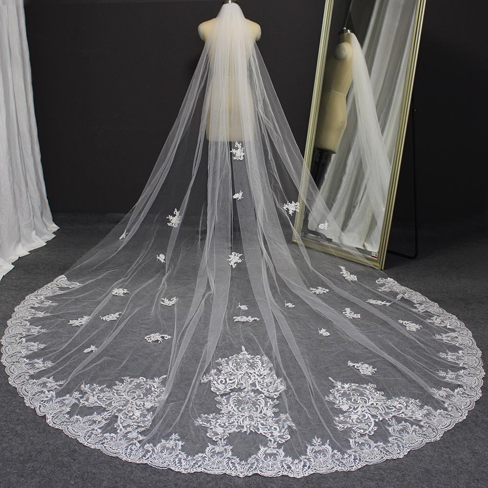 Victorian Vintage Cathedral Wedding Veil