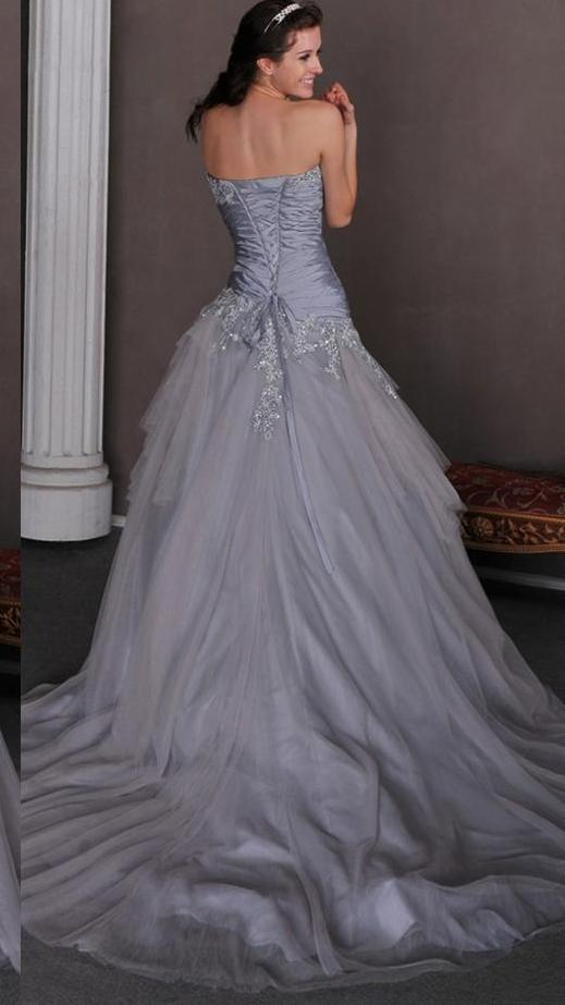 Gothic Colored Wedding Dresses