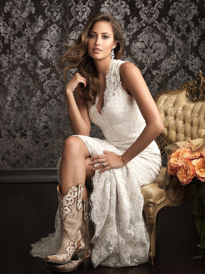 64941debe0 Spanish Lace Wedding Dresses Country Western – Matrimony Prep