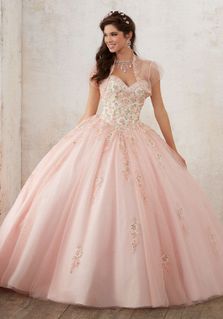 Sweet Red Quinceanera Dress