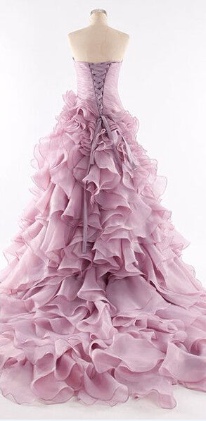 Romantic Light Purple/ Violet  Formal Gown