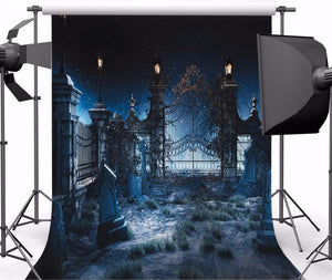 Halloween photography backdrop