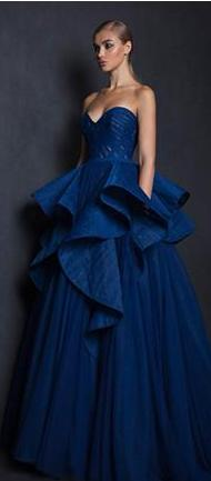 Glamorous Sweetheart Tulle Gothic Ball Gown
