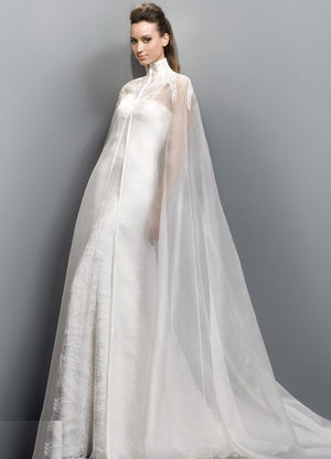 Appliques Wedding Dress Cloak