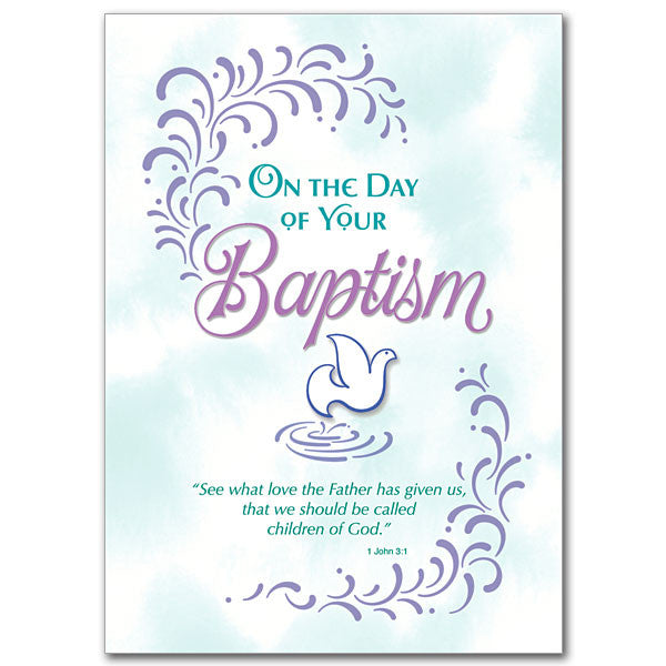 On The Day of Your Baptism - 5 Pack