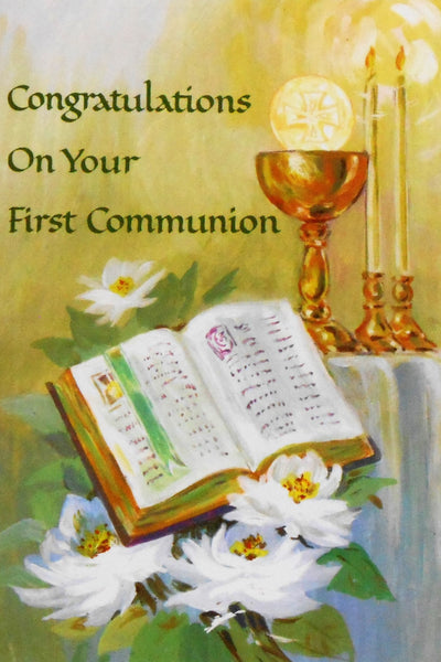 Card - First Holy Communion