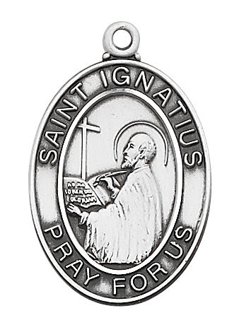 St. Ignatius Sterling Silver Medal