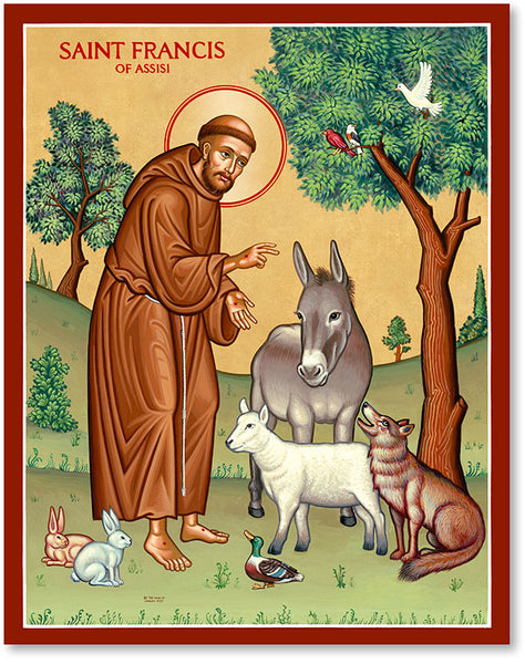 St. Francis & the Animals
