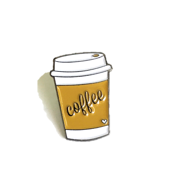 Coffee Lover Pin