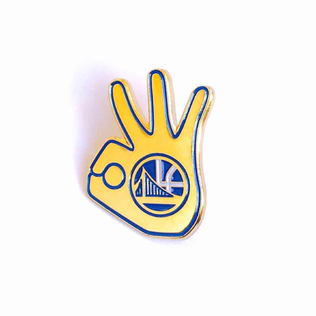 Warriors Dubnation Pin