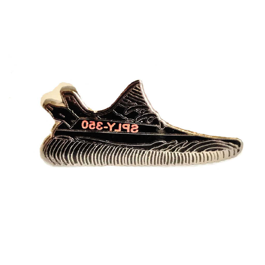 350 V2 Sneaker Pin - Black/Red