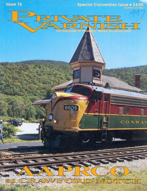 Private Varnish, 076 (Special 1997 Issue) Convention