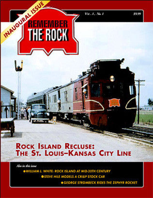 Andover Junction Publication's first issue of this Rock Island Railroad magazine