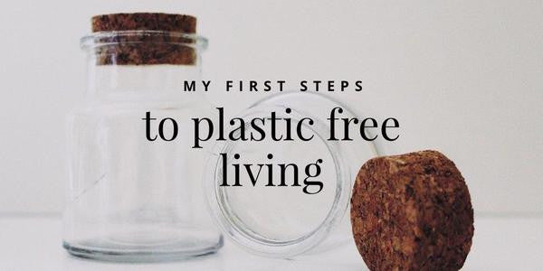 My First Steps To Plastic Free Living
