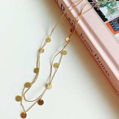 Necklaces - Gold Layered Necklace