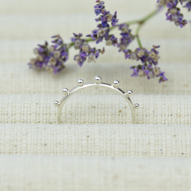 Rings - Sterling Silver Bead Ring