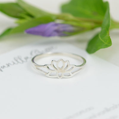 Rings - Lotus Flower Ring