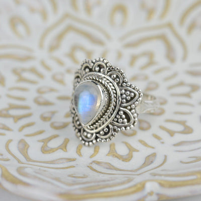 Rings - Bohemian Moonstone Ring
