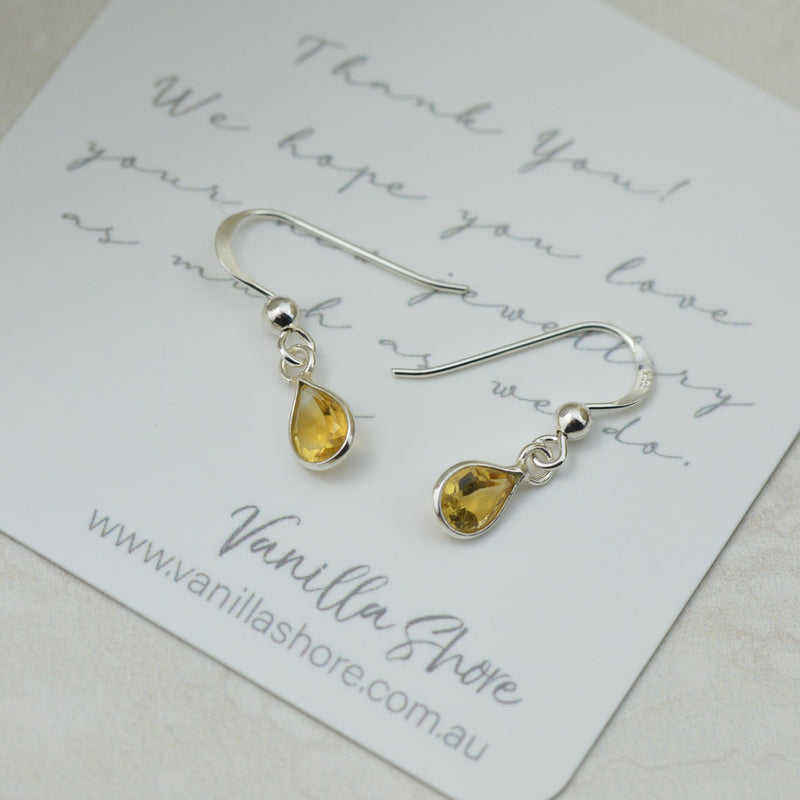 Earrings - Petite Citron Earrings