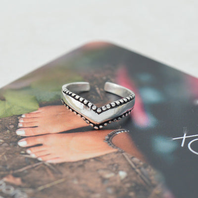 Toe Rings - Chevron Toe Ring