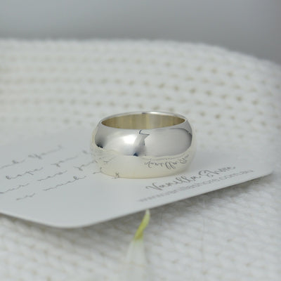 Rings - Wide Silver Ring