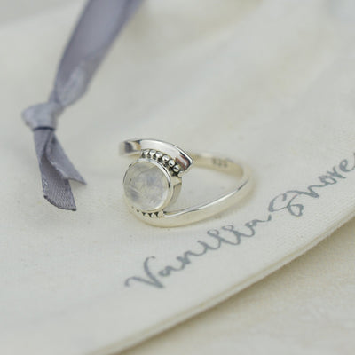 Rings - Rainbow Moonstone Ring