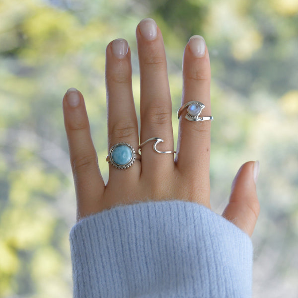 Rings - Larimar Ring