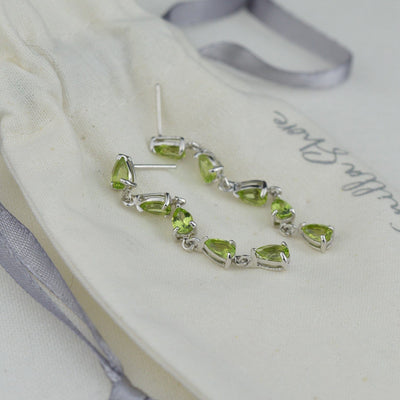 Earrings - Peridot Earrings
