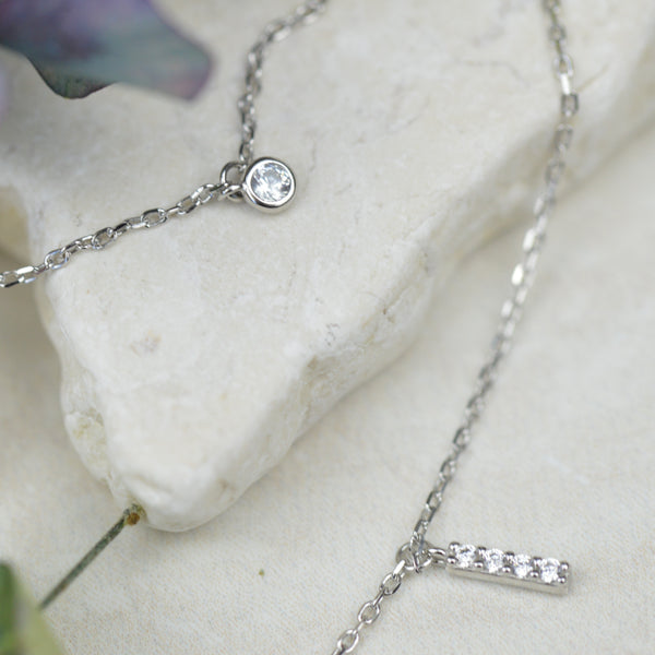 Necklaces - Cubic Zirconia Layered Necklace