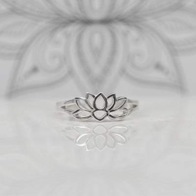 Toe Rings - Lotus Flower Toe Ring