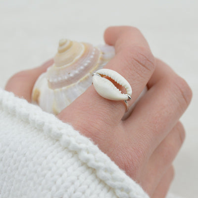 Rings - Cowrie Shell Ring