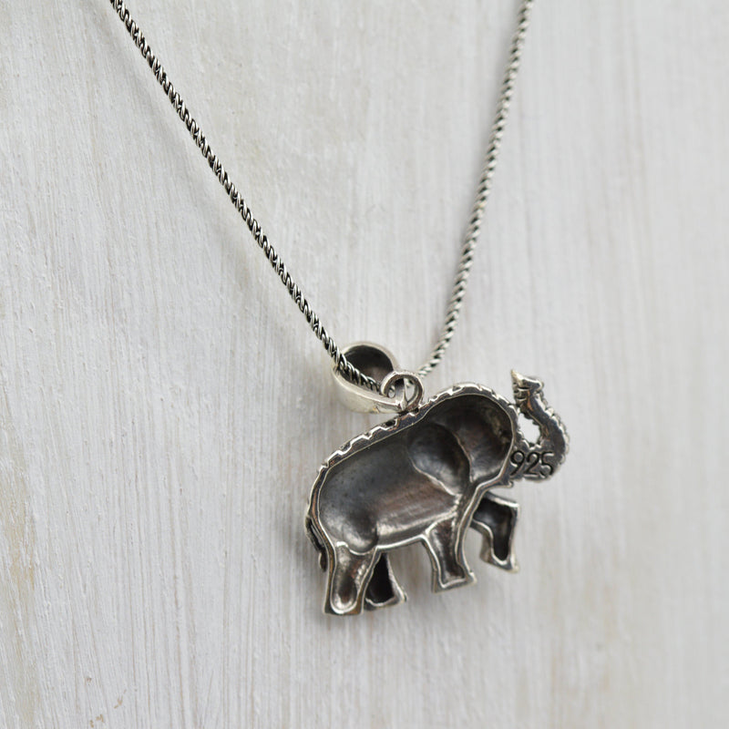 Majestic Beauty Elephant Necklace