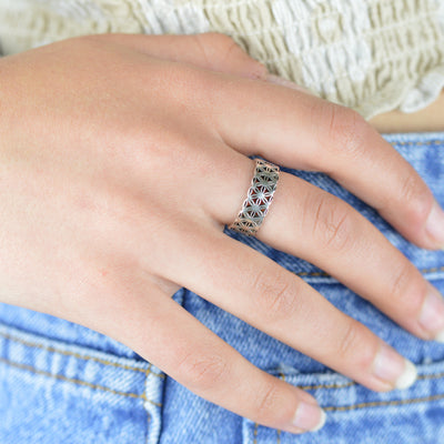 Rings - Flower Of Life Ring