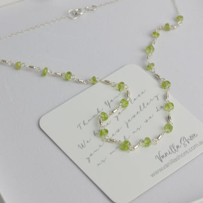 Necklaces - Peridot Necklace