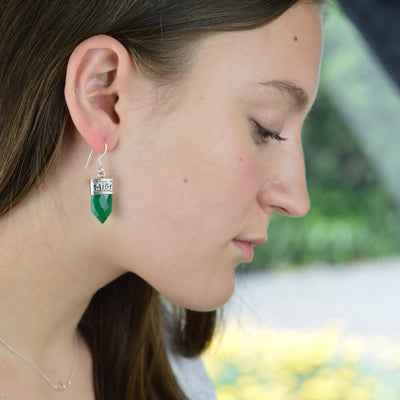 Earring - Green Onyx Earrings